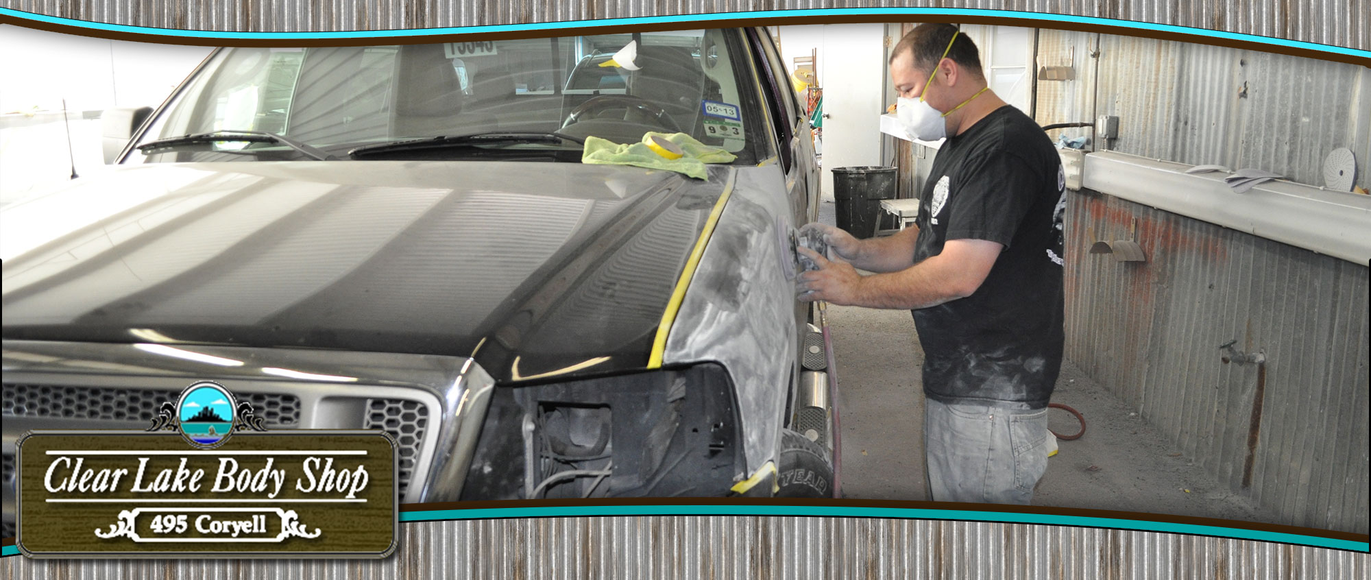 The paint and body shop to service your collision center needs.